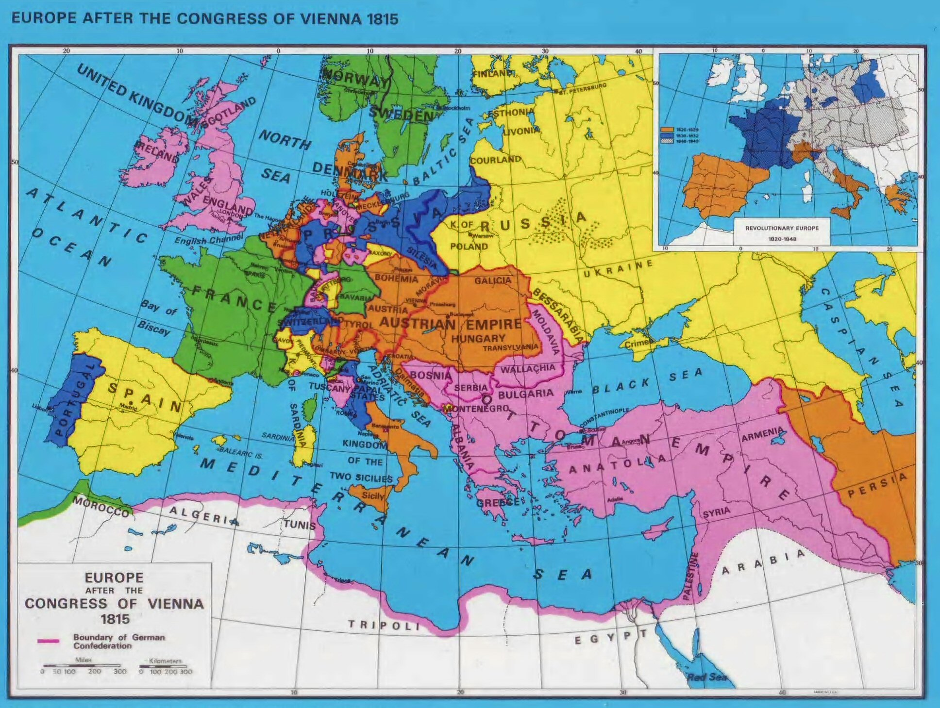 Shifting maps of Europe over 200 years from 1815 – 2014 | The k2p blog